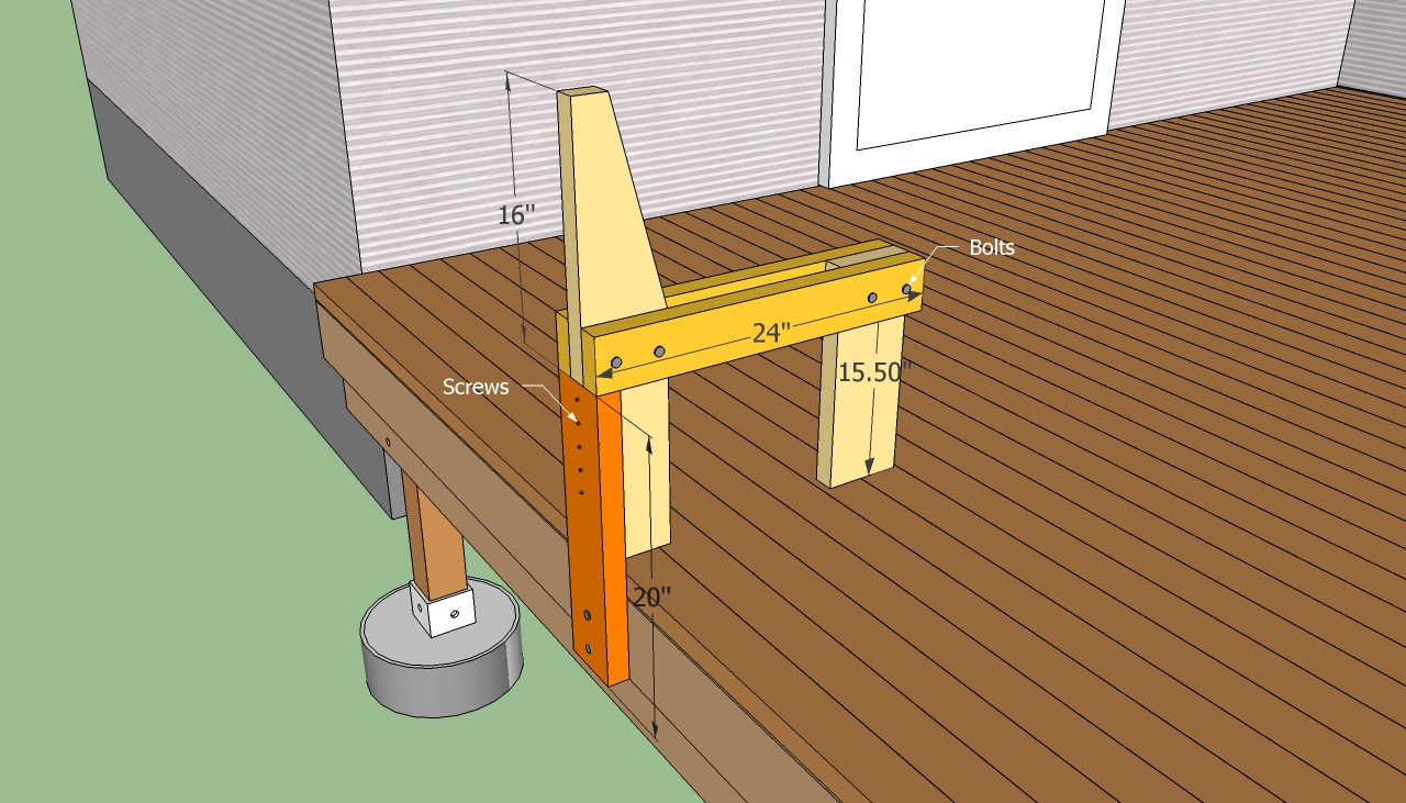 Handrails for Porch Steps | Building Stair Stringers | Build Deck Stairs