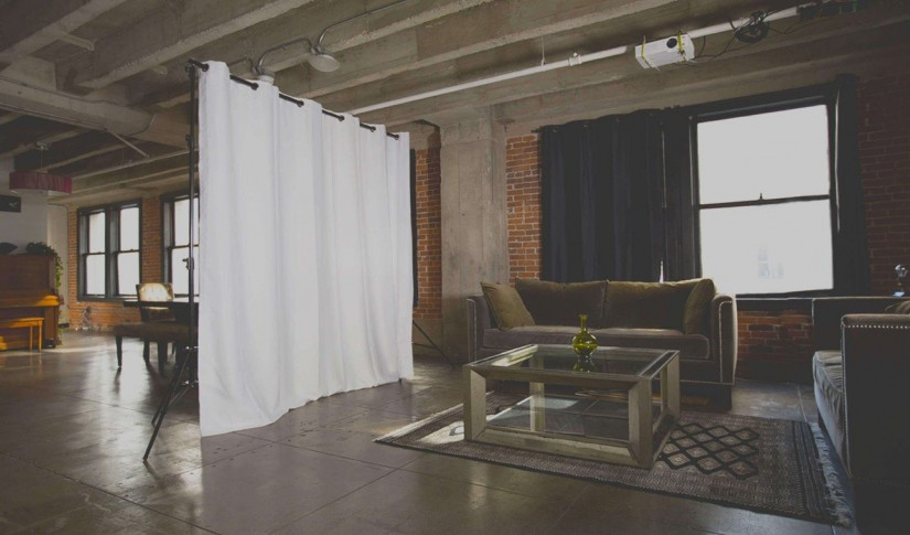 Hanging Curtain Room Dividers | Room Divider Curtains Drapes | Room Divider Curtains