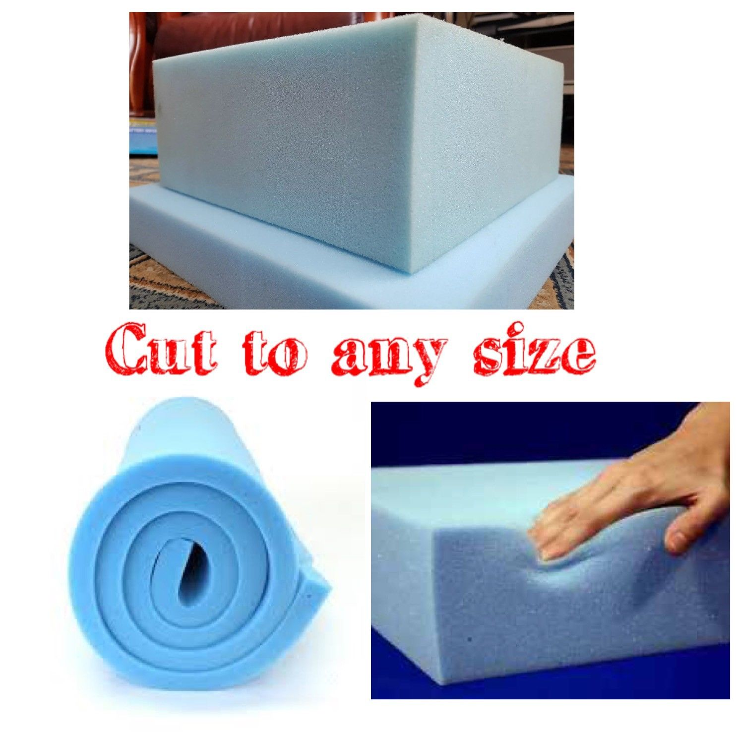 High Density Foam Cushion | High Density Upholstery Foam | High Density Seat Foam