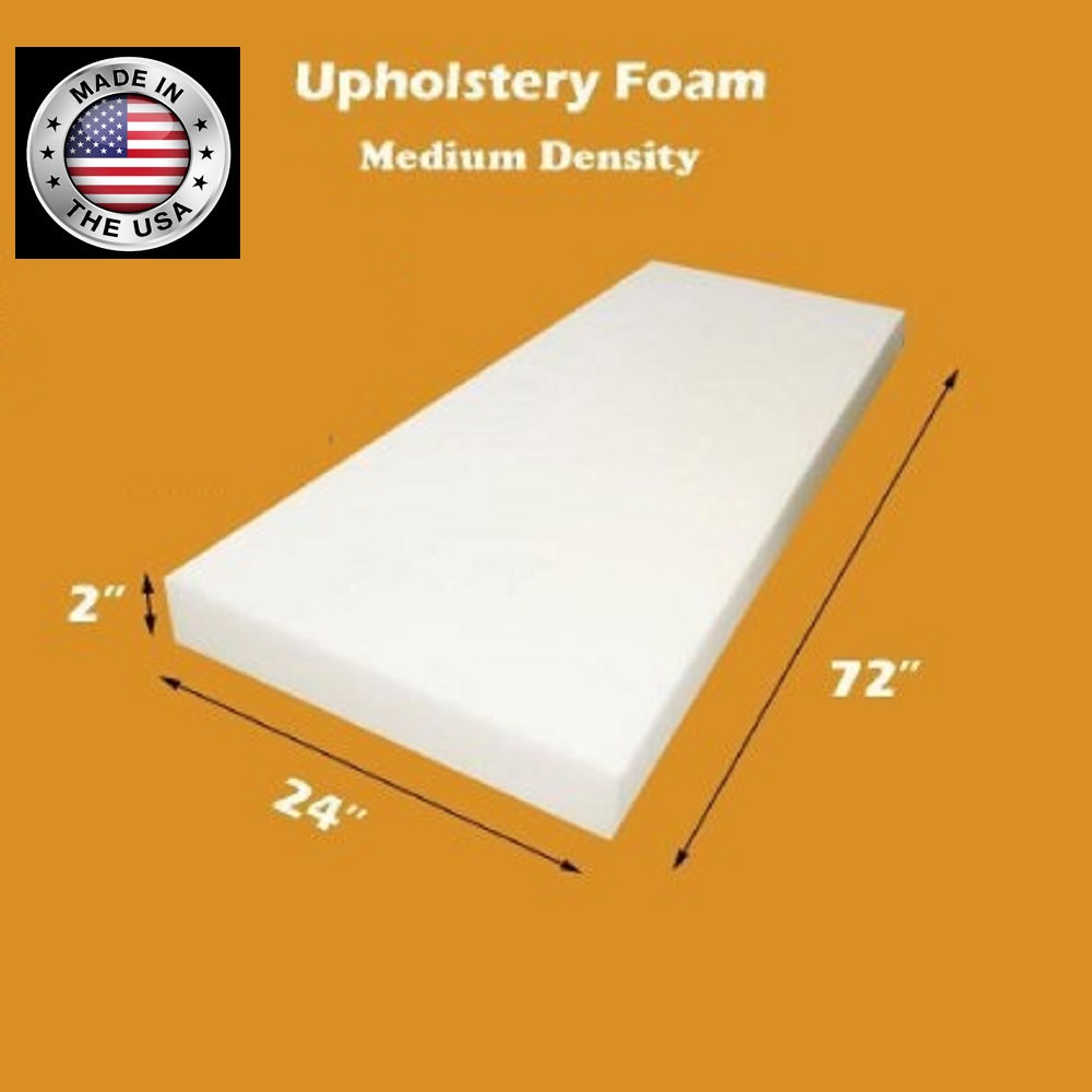 High Density Upholstery Foam | Where to Buy Foam Rubber Padding | Hi Density Foam