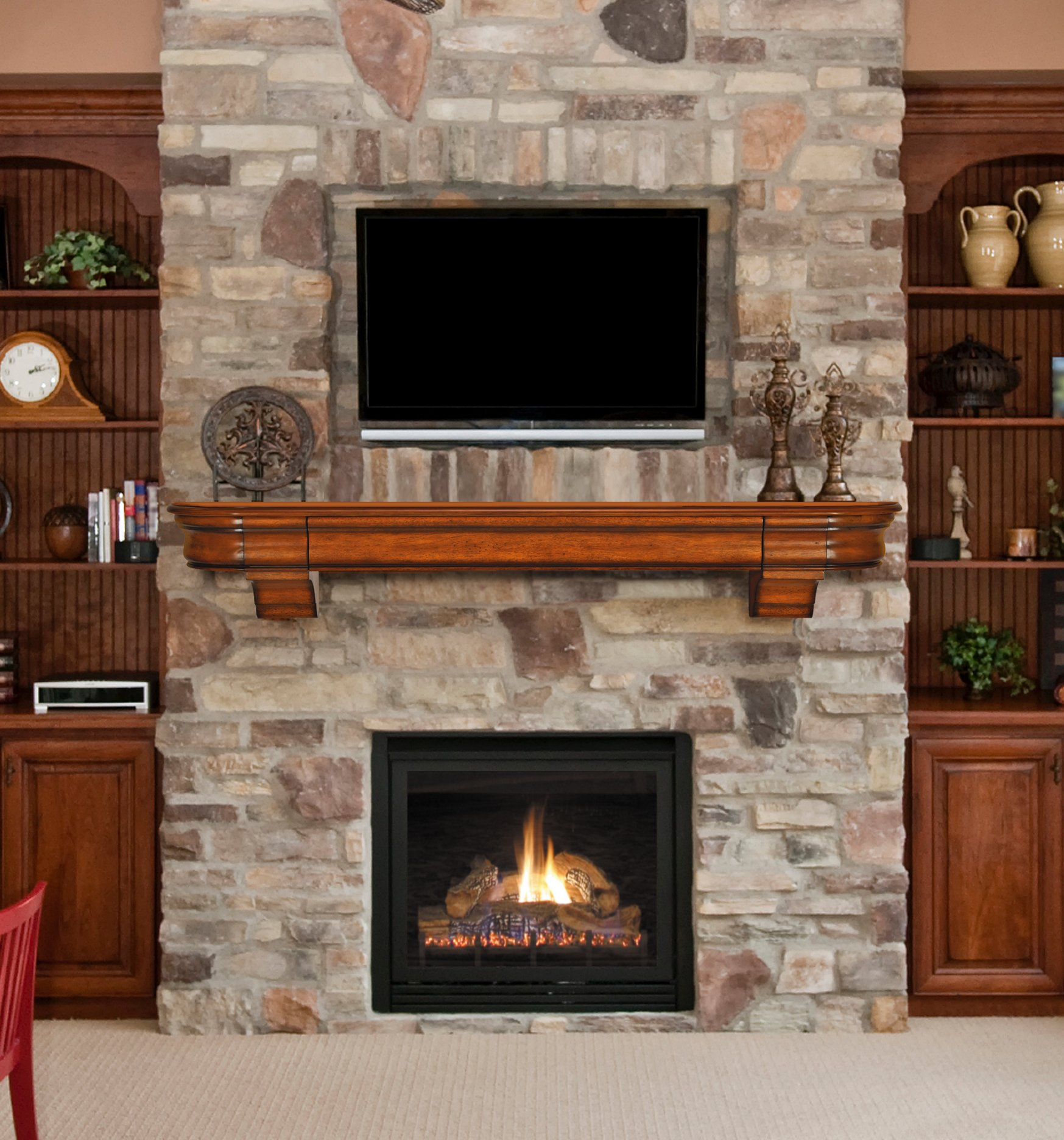 Home Depot Fireplace Mantel | Lowes Fireplace Surround | Lowes Fireplace Mantel