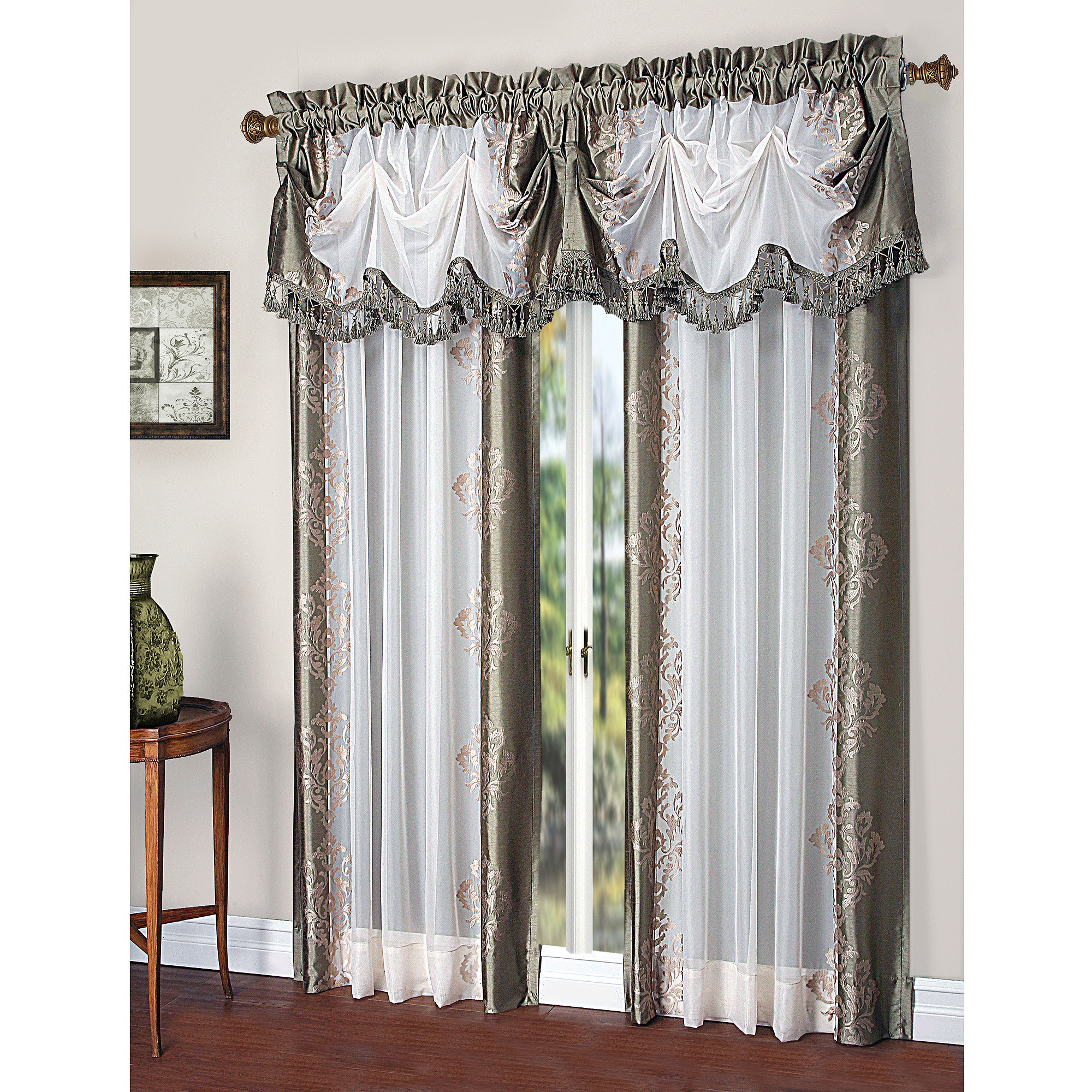 Home Outfitters Window Coverings | Embroidered Kitchen Curtains | Embroidered Curtains
