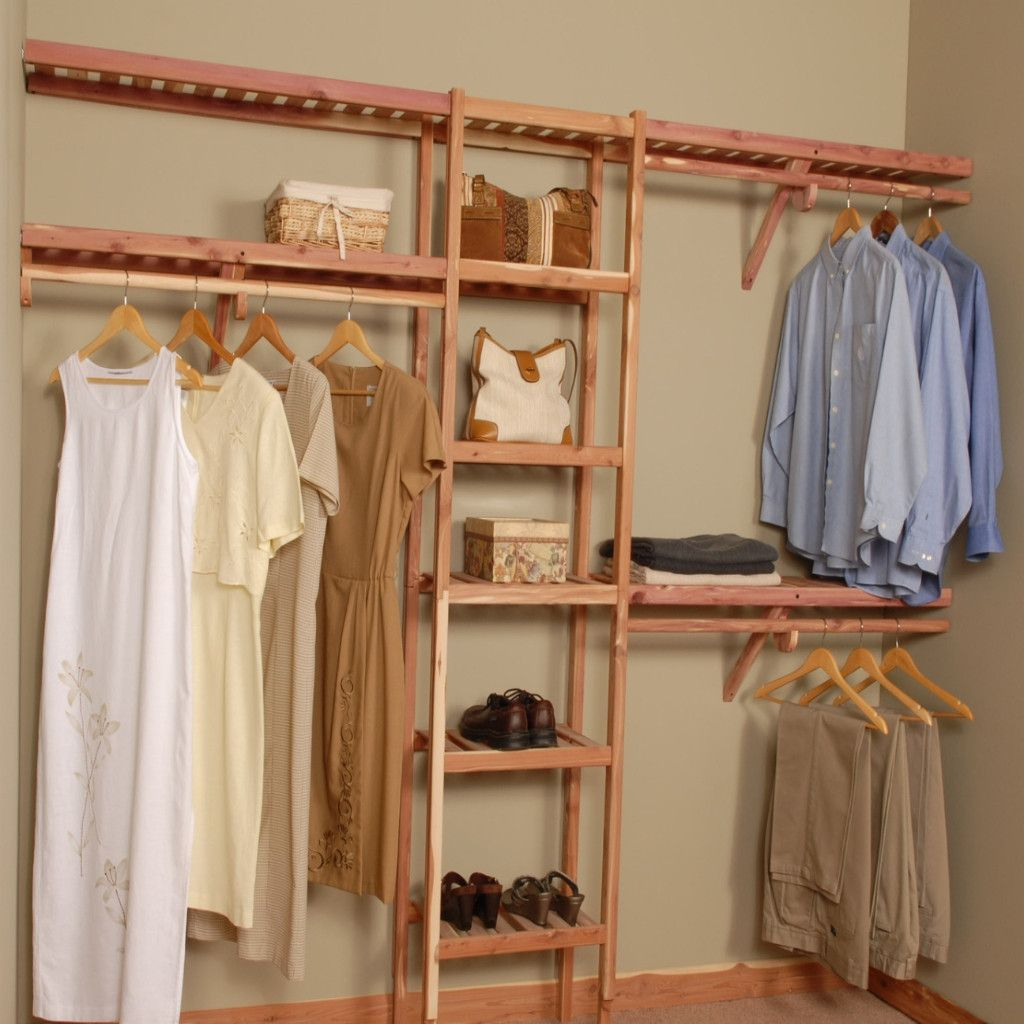 Inspiring Storage System Design Ideas with Cedar Closet Kit: How To Build A Cedar Closet In Basement | Lowes Cedar Paneling | Cedar Closet Kit