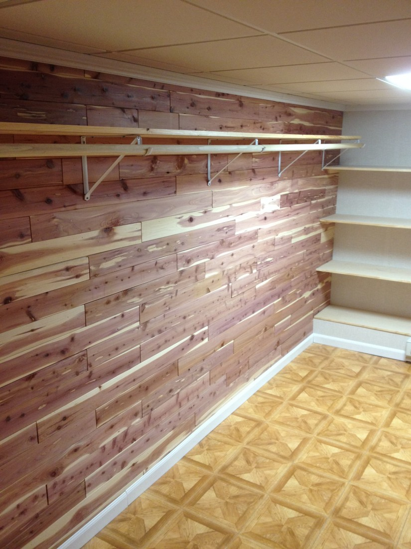 How To Build A Cedar Closet In Basement | Tongue And Groove Cedar Closet | Cedar Closet Kit