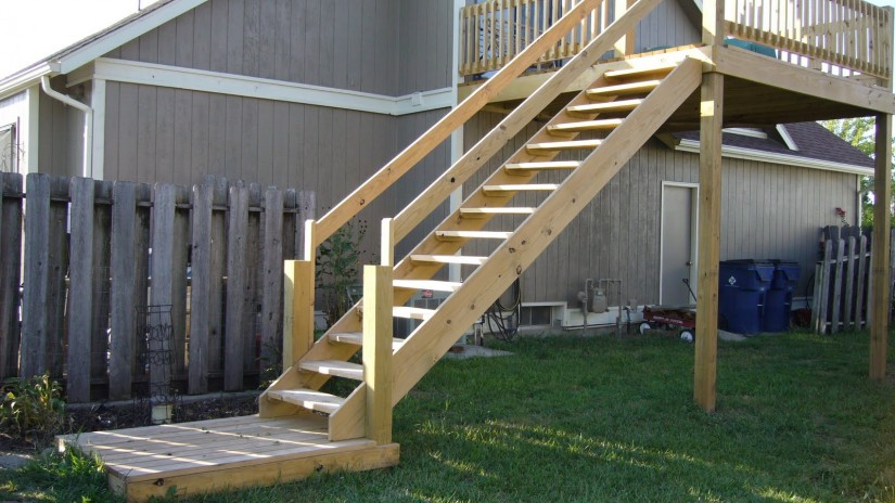 How To Build Deck Stairs And Railing | Build Deck Stairs | How To Build A Stringer