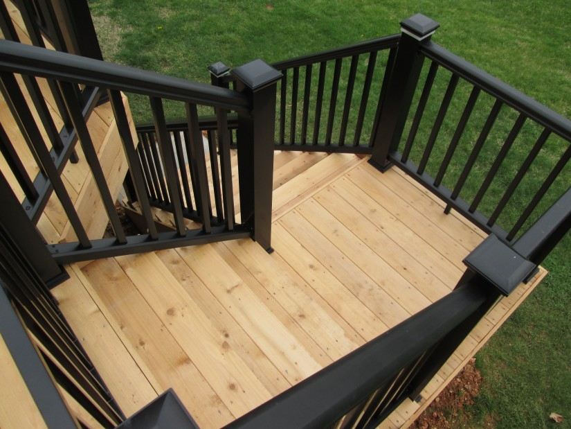 How To Build Deck Stairs And Railing | Deck Stair Rails | Build Deck Stairs