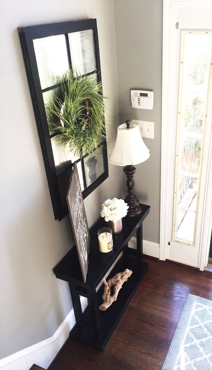 How to Decorate A Foyer Table | Entryway Mirror | How to Decorate Console Table