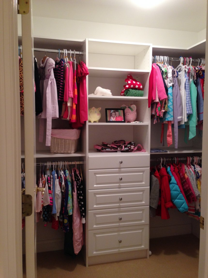 How to Make Your Own Closet Organizer | Closet Organization | Diy Walk in Closet