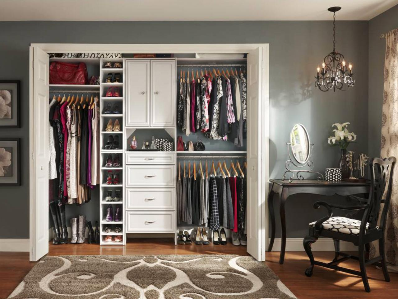Inspiring Interior Storage Design Ideas with Diy Walk in Closet: How To Make Your Own Closet Organizer | Diy Walk In Closet | Modular Closet Systems