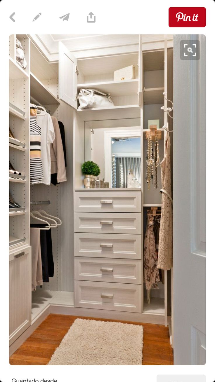 How To Organize A Walk In Closet | Closet Organiztion | Diy Walk In Closet