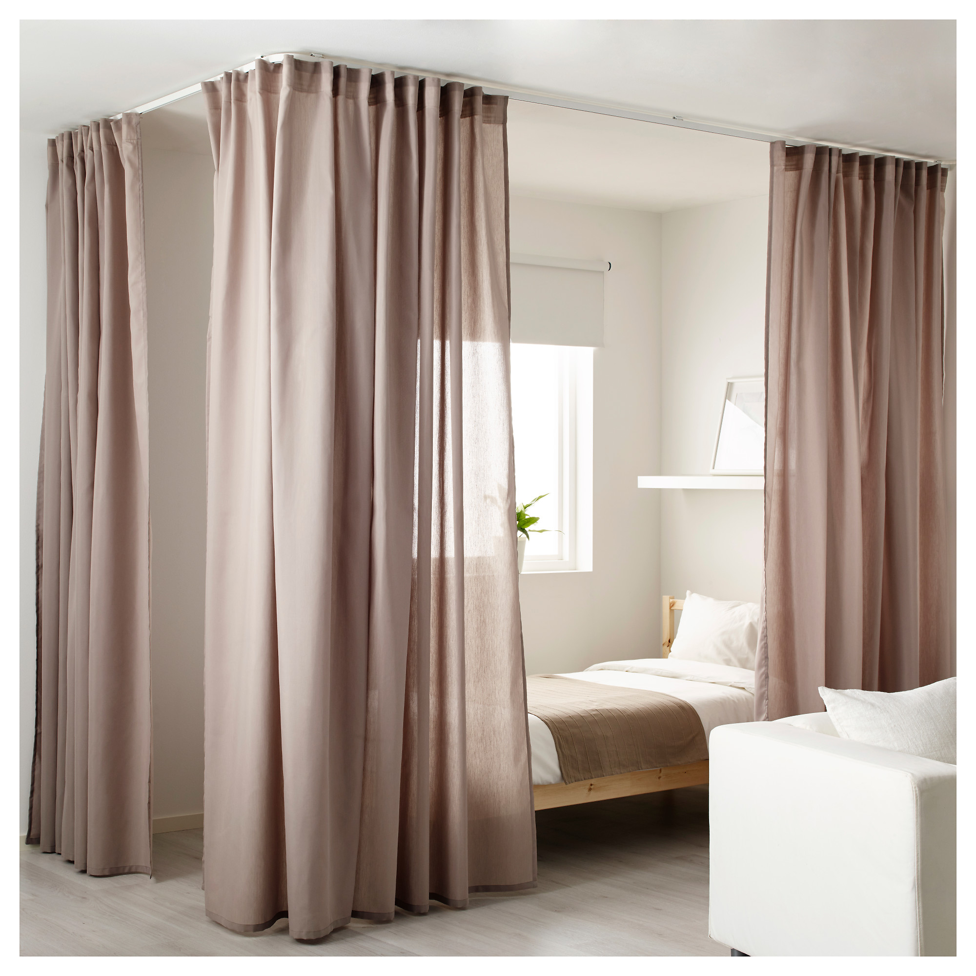 Enchanting Room Divider Curtains for Your Space Room Ideas: Ikea Room Divider Curtain Panels | Panel Curtains Room Divider | Room Divider Curtains