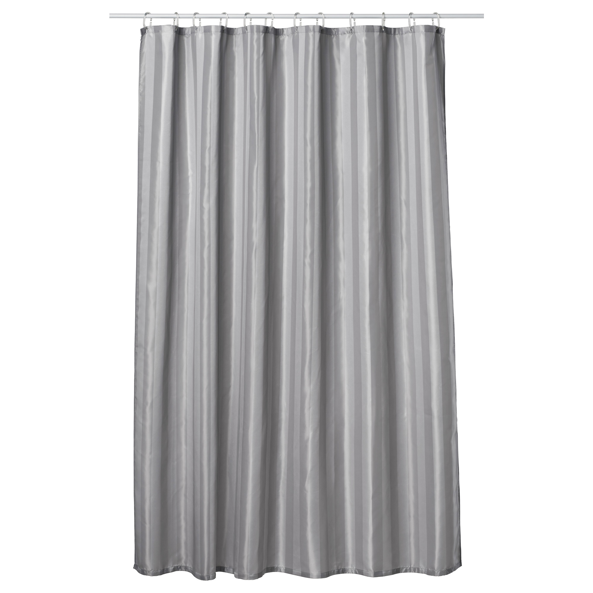 Ikea Shower Curtain | Grey and White Shower Curtains | Boys Shower Curtains