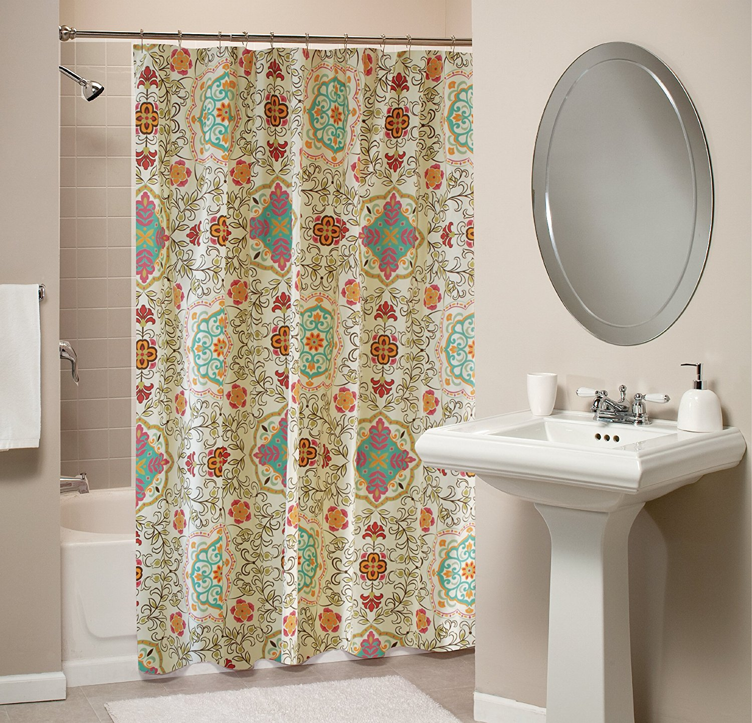 Ikea Shower Curtain | Ikea Shower Curtain | Pocket Shower Curtain