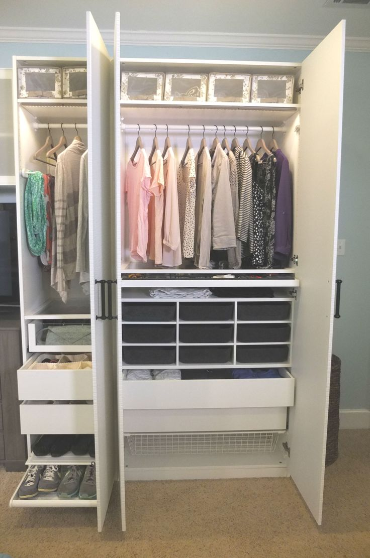 Ikea Wardrobes for Small Spaces | Ikea Closet Storage | Ikea Closet Rack