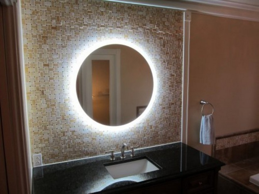 Illuminated Bathroom Mirrors | Lighted Wall Mount Mirror | Lighted Wall Mirror