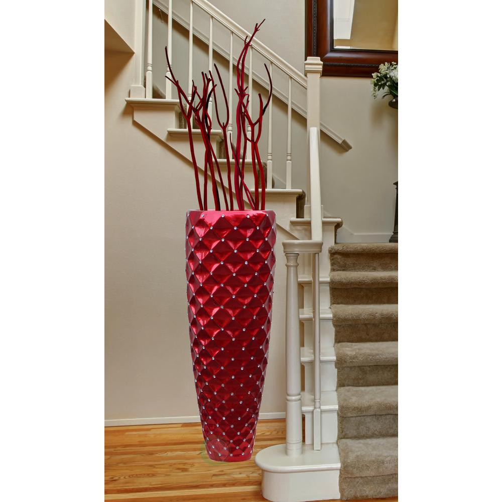 Large Glass Floor Vase | Tall Floor Vases for Sale | Extra Large Floor Vases