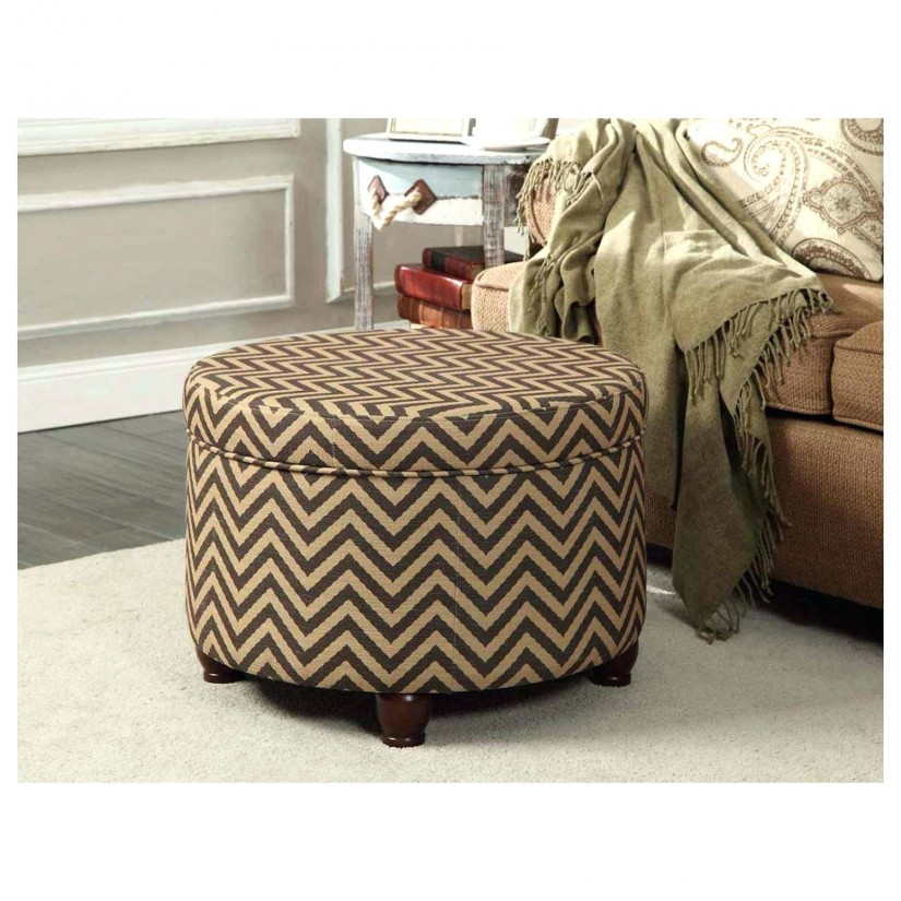 Large Rectangular Ottoman | Large Round Coffee Table Ottoman | Extra Large Ottoman
