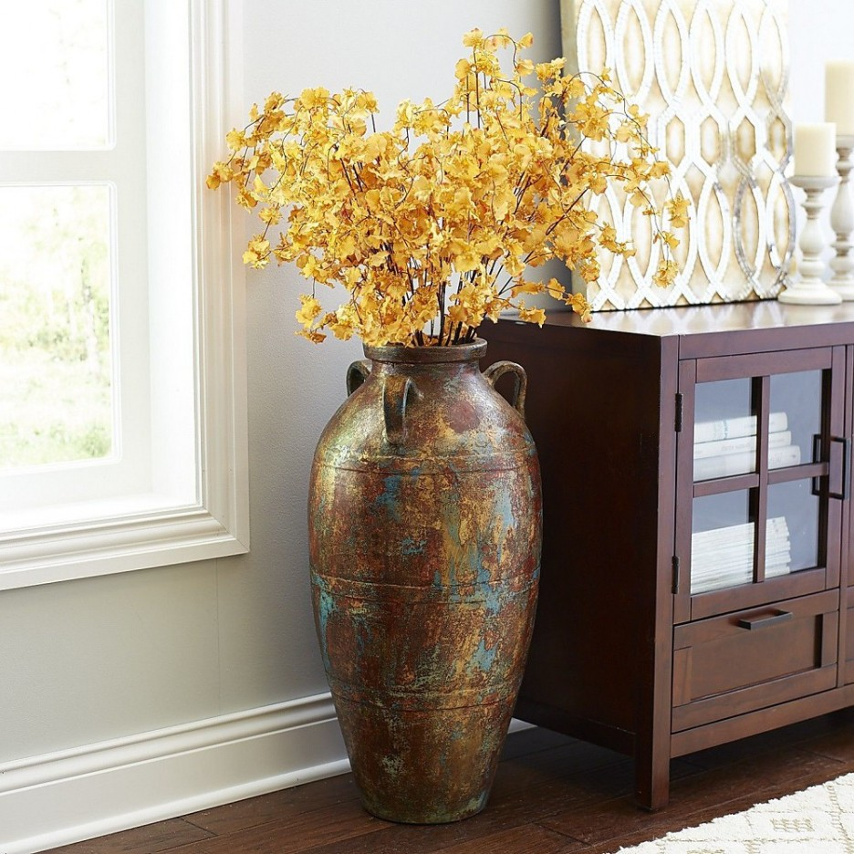 Large Terracotta Floor Vases | Extra Large Floor Vases | Extra Large Floor Vase