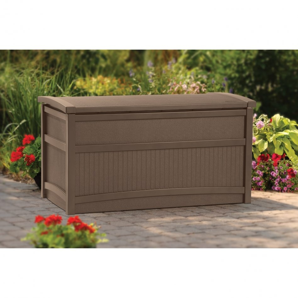 Largest Deck Box | Lowes Storage Bins | Rubbermaid Storage Bench