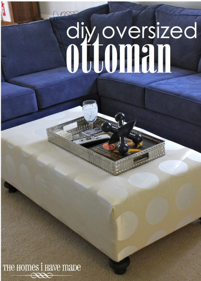 Leather Rectangular Ottoman Coffee Table | Cheap Large Ottomans | Extra Large Ottoman