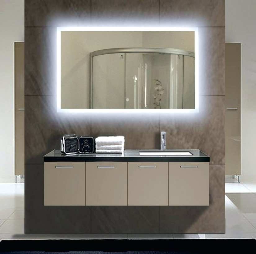 Lighted Bathroom Vanity Mirror | Lighted Wall Mirror | Magnifying Makeup Mirror With Light Wall Mounted
