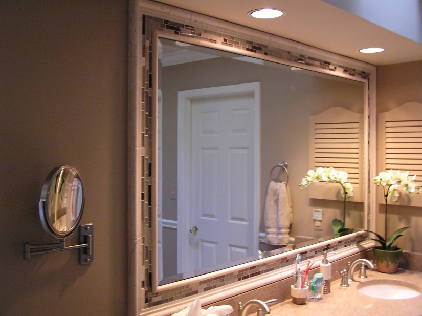 Lighted Makeup Mirror Wall Mounted | Lighted Wall Mirror | Wall Mount Lighted Makeup Mirror