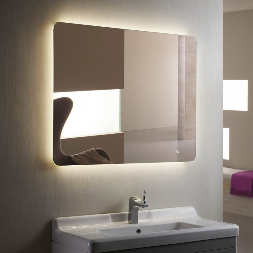 Lighted Mirrors For Bathrooms Modern | Lighted Mirror Wall | Lighted Wall Mirror