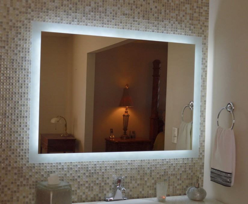 Lighted Wall Makeup Mirror | Lighted Wall Mirror | Magnifying Wall Mirror With Light