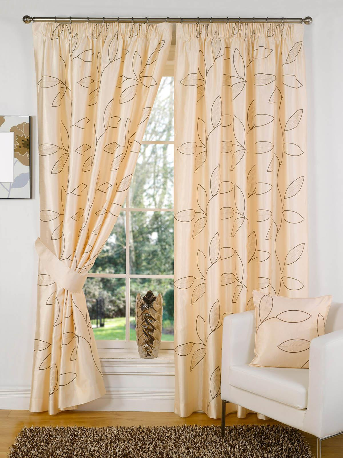 Lilac Velvet Curtains | Embroidered Linen Curtains | Embroidered Curtains