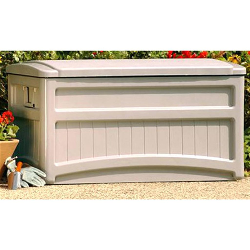 Lowes Containers | Rubbermaid Patio Storage Box | Rubbermaid Storage Bench