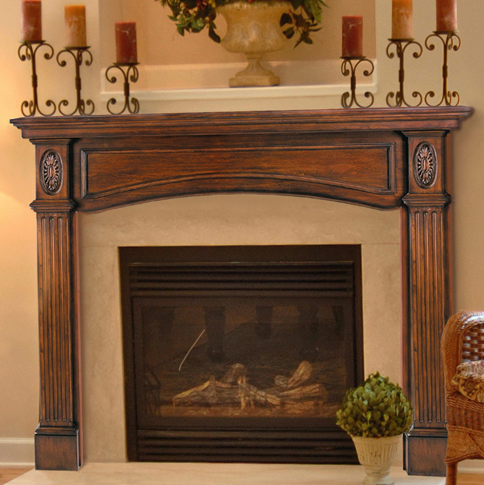 Lowes Fireplace Mantel | Home Depot Fireplace Mantels Kits | Unfinished Fireplace Mantel