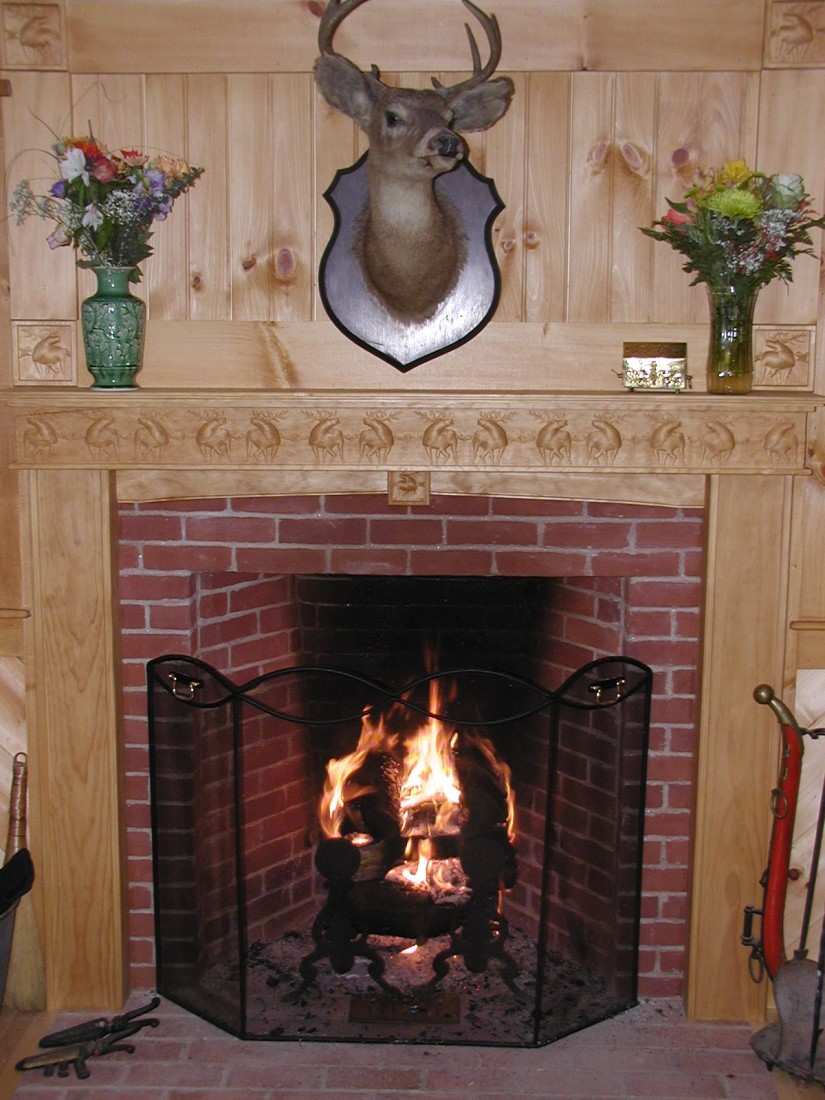 Lowes Fireplace Mantel | Prefabricated Fireplace Mantels | Lowes Fireplace Mantel Kits