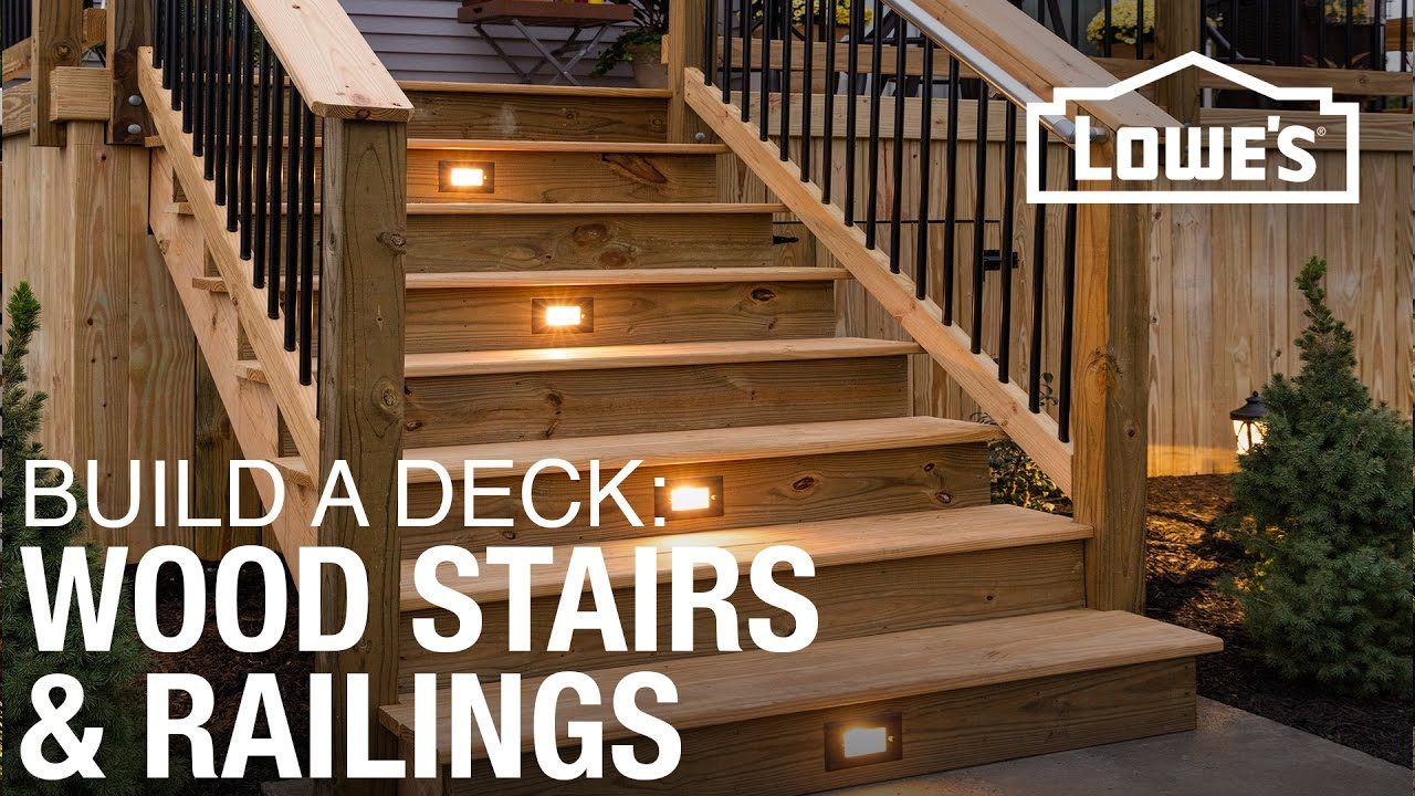 Making Stringers for Deck Stairs | Build Deck Stairs | Building Stairs Stringers
