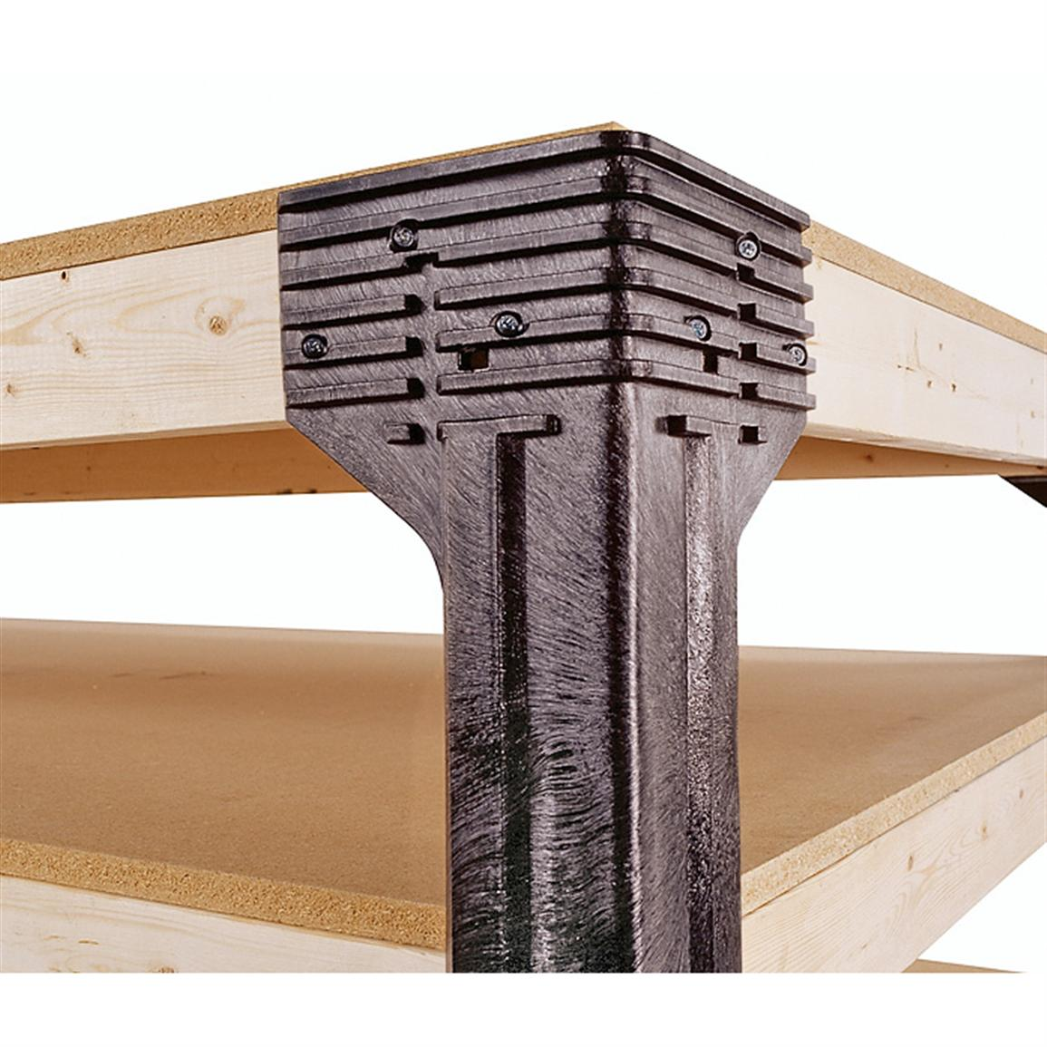 Metal Workbench Legs Kit | Workbench Table Legs | Work Bench Legs