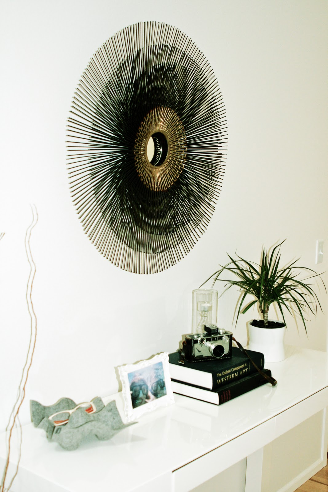 Mirror Collage Wall Decor | Crate and Barrel Mirrors | Crate and Barrel Mirrors