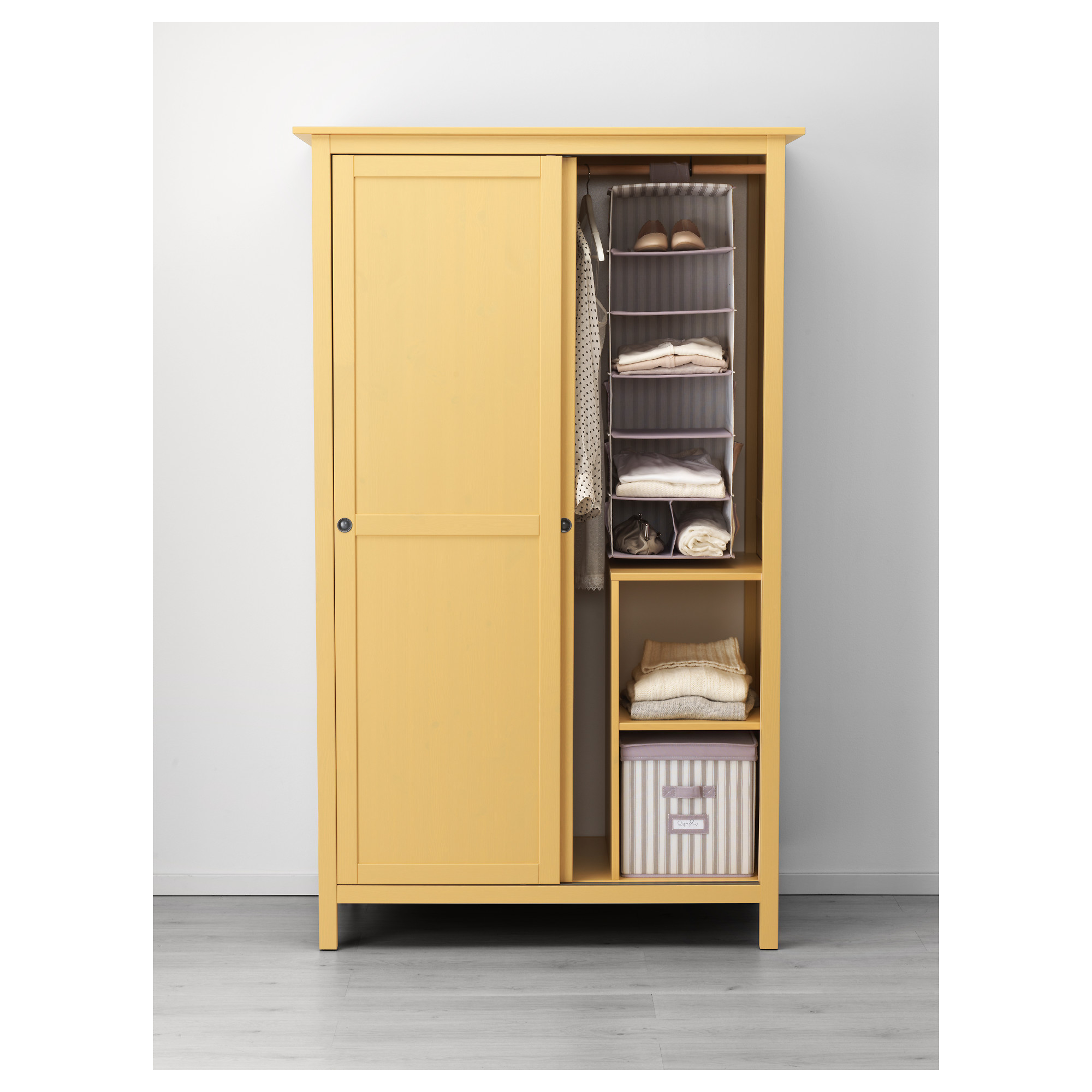 closet hanging rod alder sale bedroom ikea with wardrobe armoire for dark plans