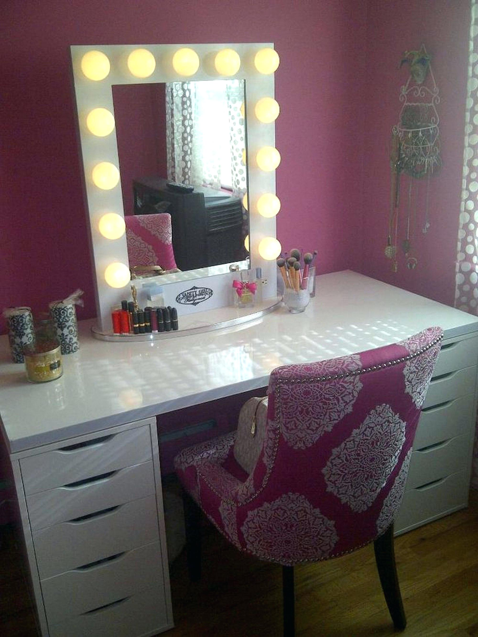 Mirrored Vanity Set | Vanity Makeup Desk | Vanity Set Sale
