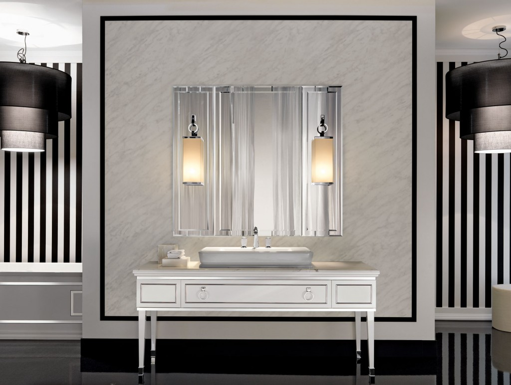 Mirrored Vanity Set | Vanity Set Brush Comb Mirror | Mirror and Vanity Set