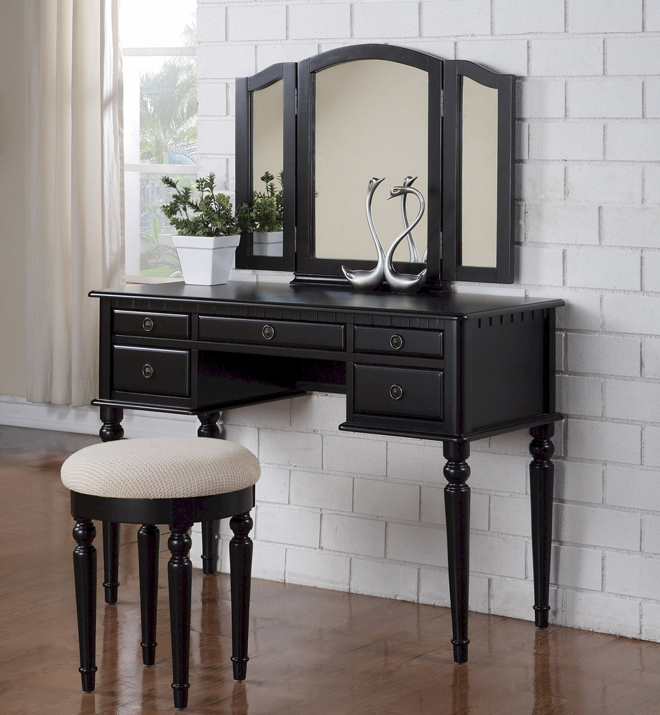 Mirrored Vanity Set | Vanity Set Sale | Bedroom Vanity Table with Drawers