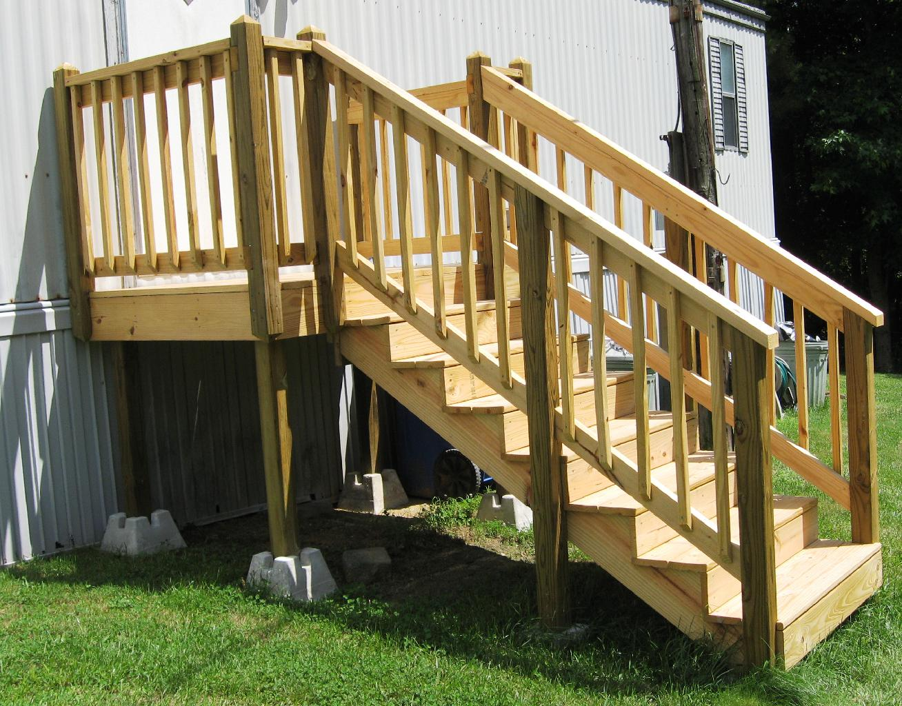 Mobile Home Deck Designs | Mobile Home Porches | How to Attach A Porch Roof to A Mobile Home