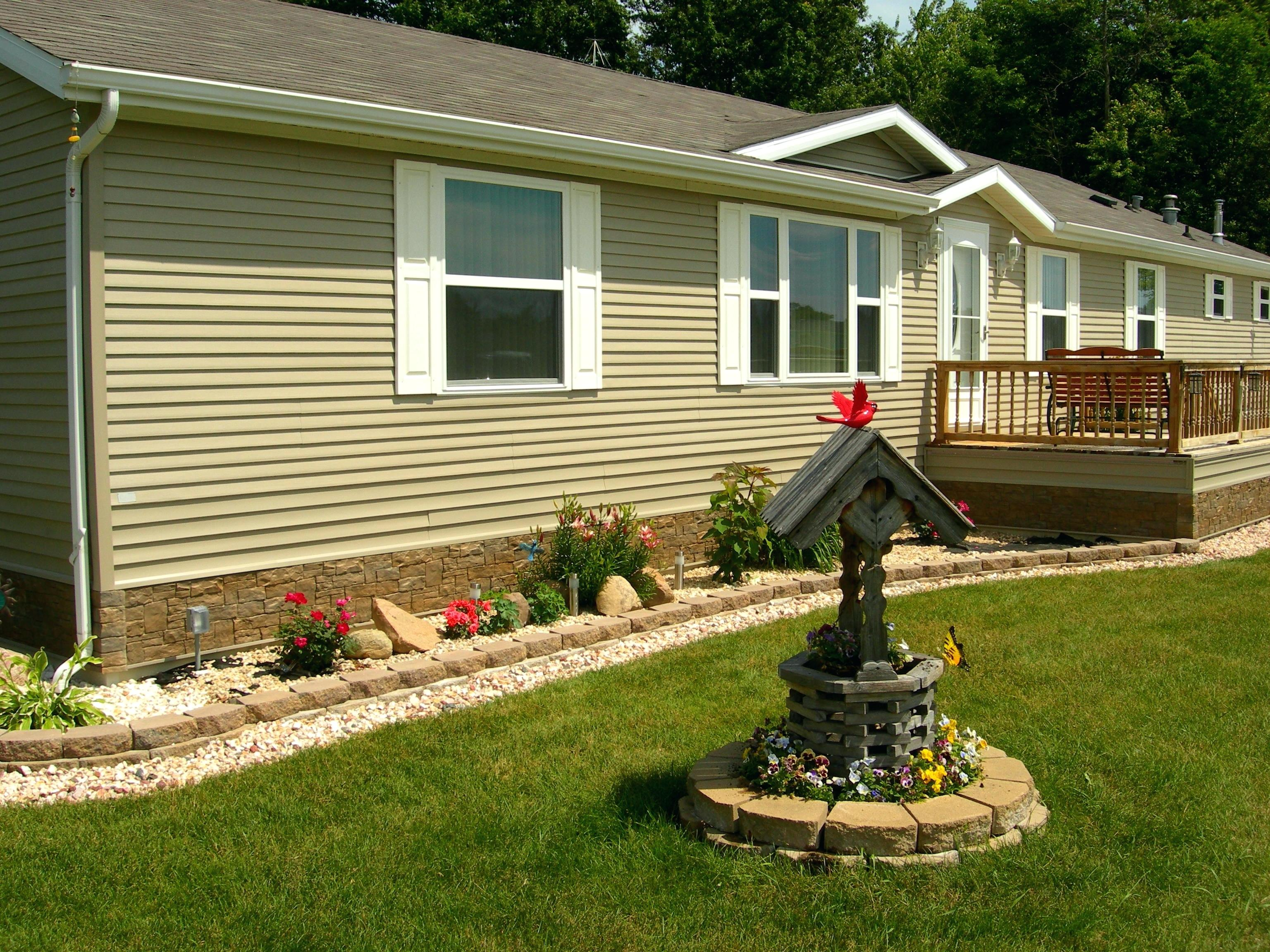Mobile Home Plans with Porches | Covered Decks for Mobile Homes | Mobile Home Porches
