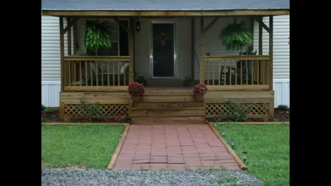 Ideas inspiring home design ideas with mobile home for Front porch plans free