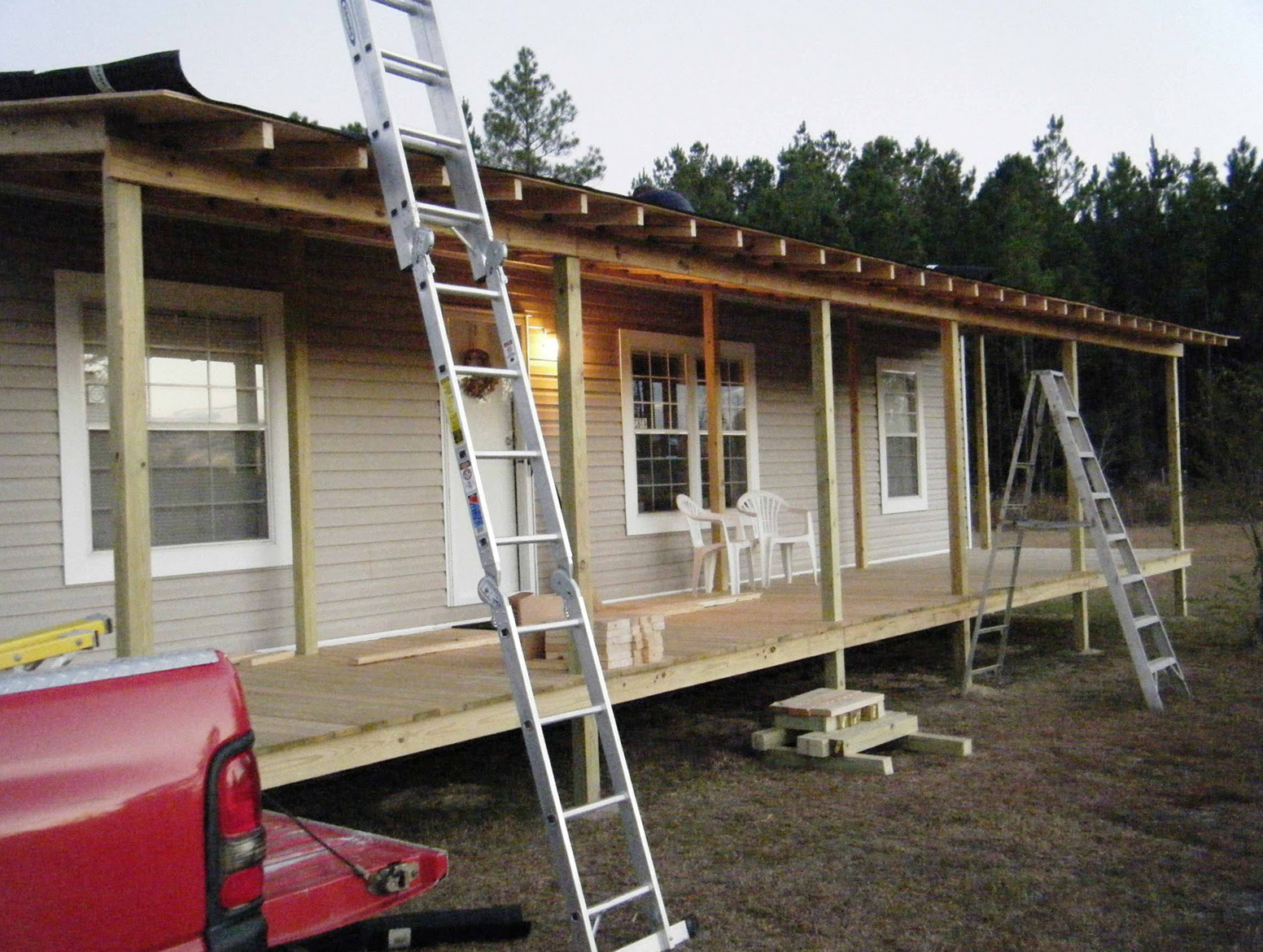 Mobile Home Porches | Deck Kits for Mobile Homes | Porch Awnings for Mobile Homes