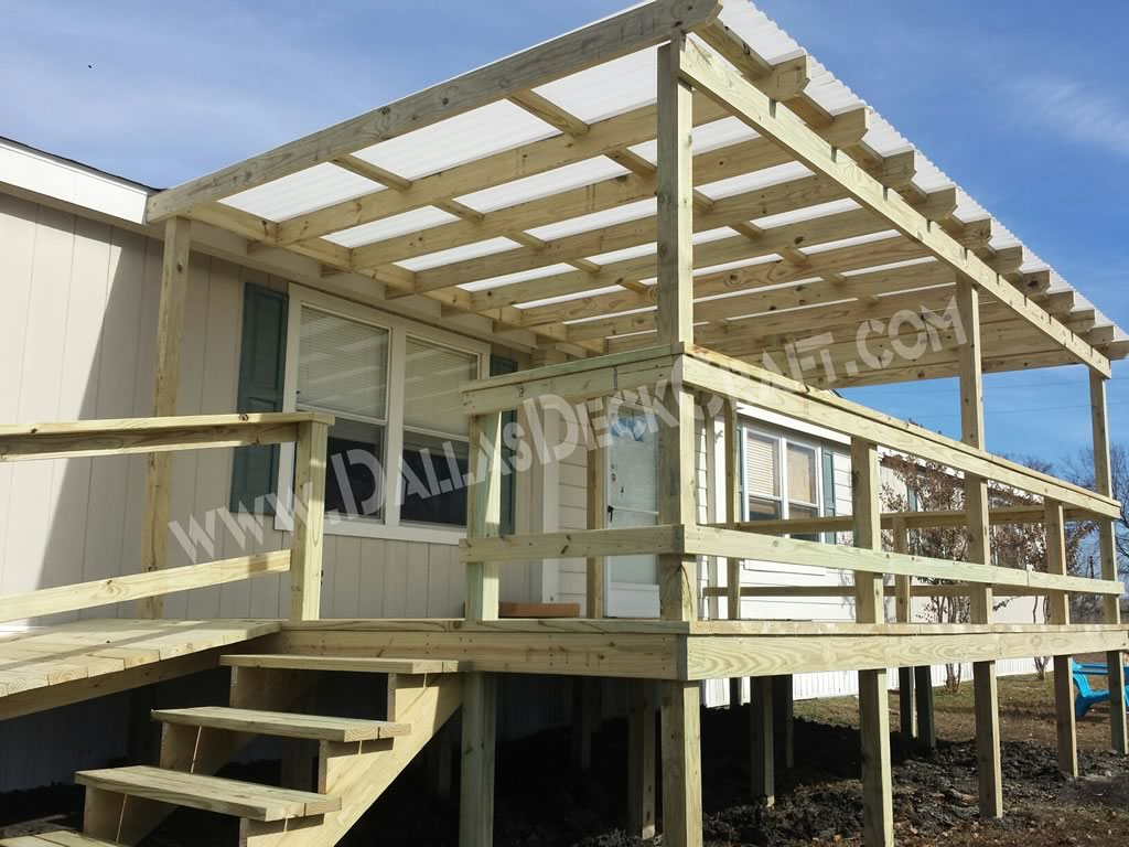 Mobile Home Porches | Mobile Home Deck Kits | Prefab Porches