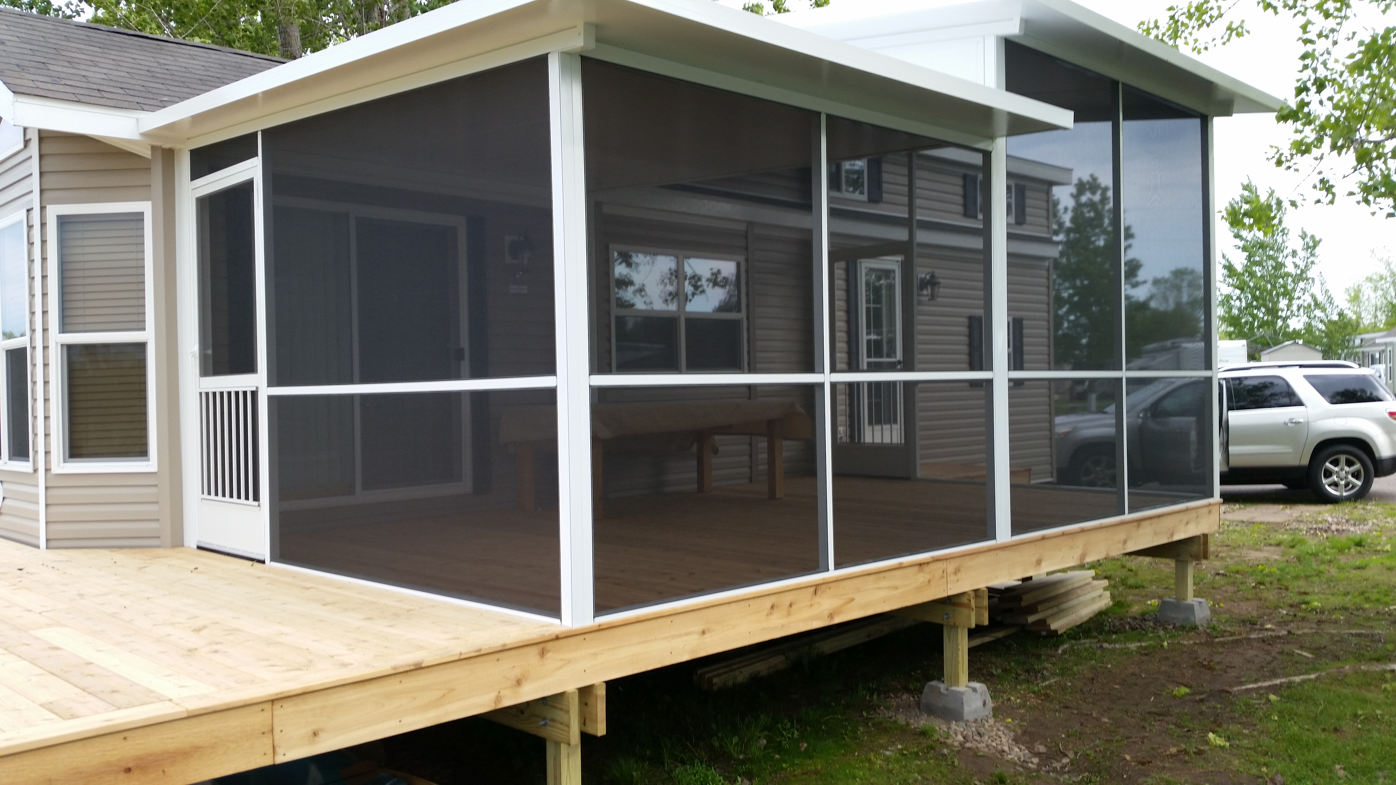 Mobile Home Porches | Modular Home Porches | Manufactured Home Porches