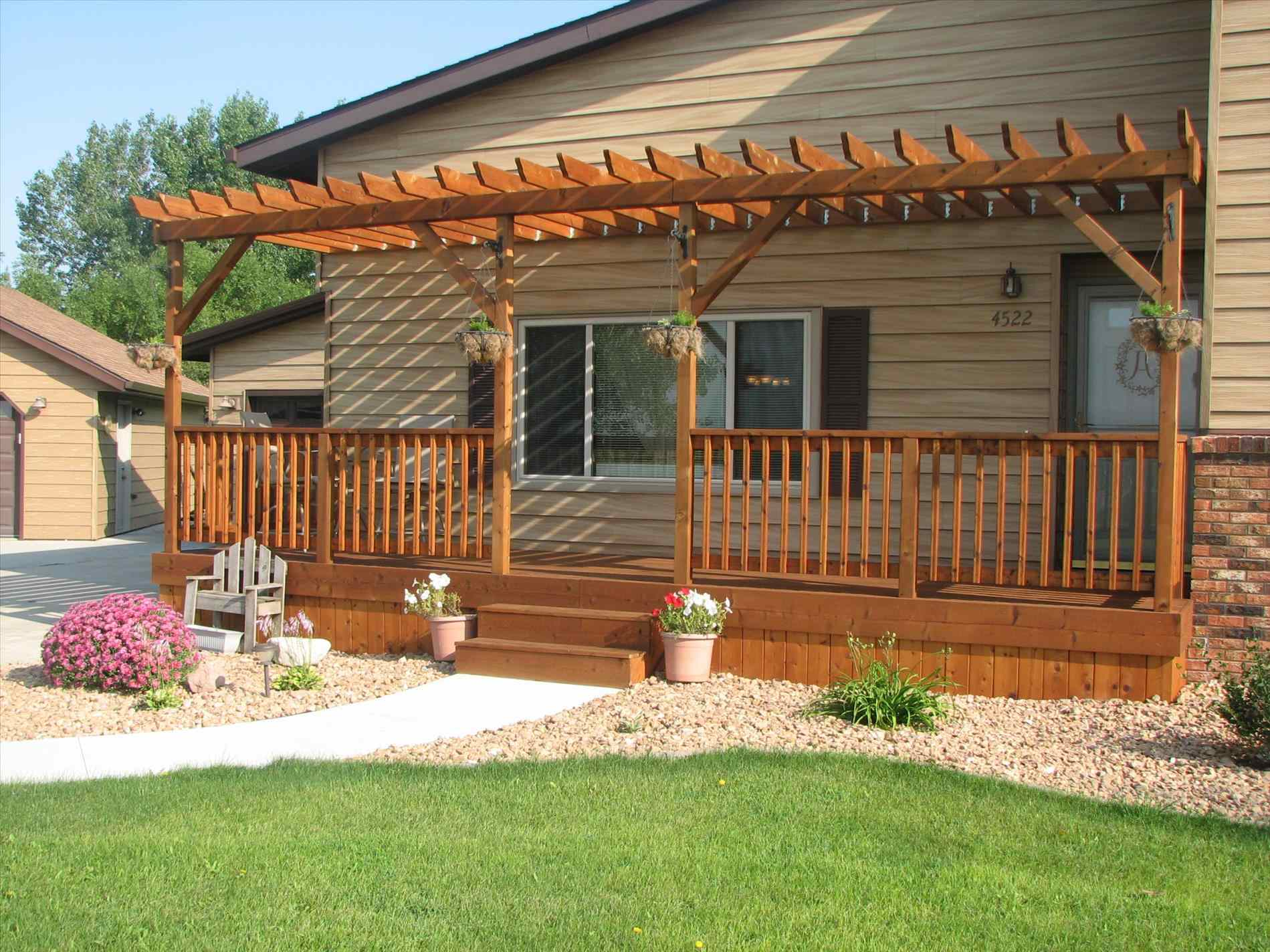 Mobile Home Porches | Pictures of Porches on Mobile Homes | Mobile Home Porches and Decks