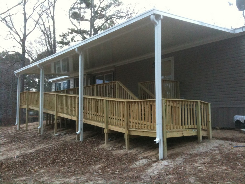Mobile Home Porches | Pre Made Porches | Back Porch Ideas for Mobile Homes