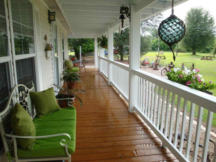 Mobile Home Porches | Prefabricated Porches | Back Porch Ideas For Mobile Homes
