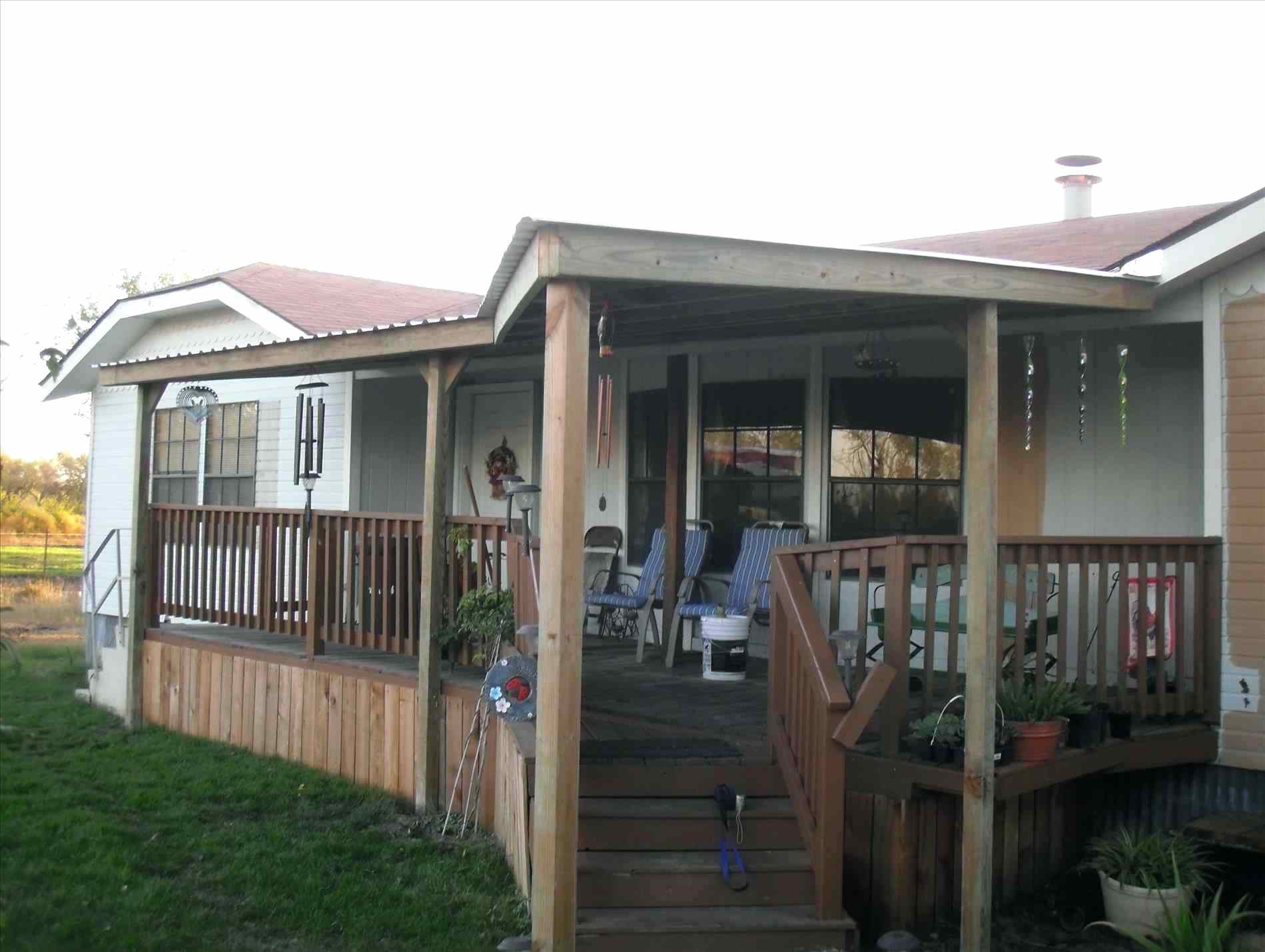 Inspiring Home Design Ideas with Mobile Home Porches: Mobile Homes Decks | Mobile Home Porches | Double Wide Porches