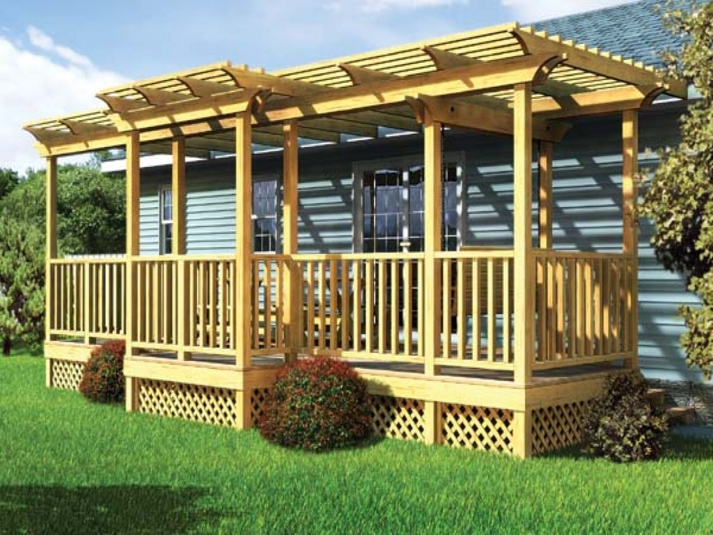 Modular Home Porches | Mobile Home Steps Decks | Mobile Home Porches